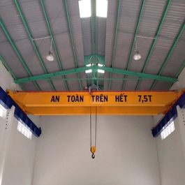 Cầu trục dầm đôi 7.5 tấn. D-7.5T