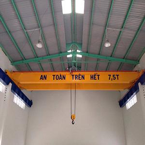Lắp cầu trục dầm đôi 7,5 tấn