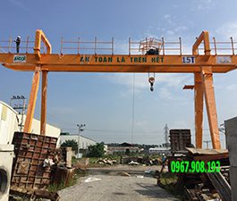 Cổng trục dầm đôi 15 tấn. GD-15T Hàn Quốc
