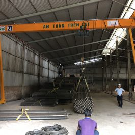 Cổng trục dầm đơn 2 tấn. GS-2T