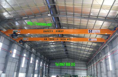 Cầu trục dầm đơn 3 tấn tại Yên Bái.