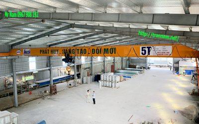 Cung cấp cầu trục chất lượng tại Vĩnh Phúc