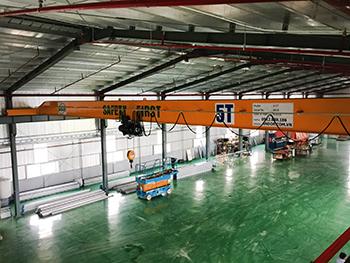 Cầu trục 5 tấn tại Hưng Yên