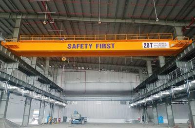 Lắp đặt cầu trục 20 tấn trong nhà máy