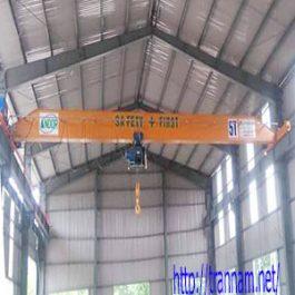 Cầu trục dầm đơn 5 tấn – tại Điện Biên