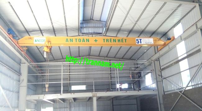 Lắp cầu trục 5 tấn tại điện biên