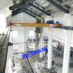 Chế tạo cầu trục dầm đôi 5 tấn – tại Hải Phòng