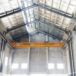 02 bộ cầu trục dầm đôi 5 tấn tại Hải Hà – Quảng Ninh
