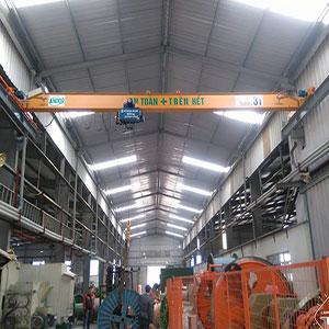 Cung cấp cầu trục dầm đơn tại Bắc Ninh.