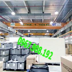 Cầu trục hai dầm 10 tấn tại Thanh Hóa.