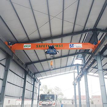 Cầu trục dầm đơn 5 tấn tại Nam Định.