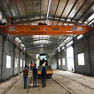 Cầu trục 5 tấn dầm đôi tại Phú Thọ