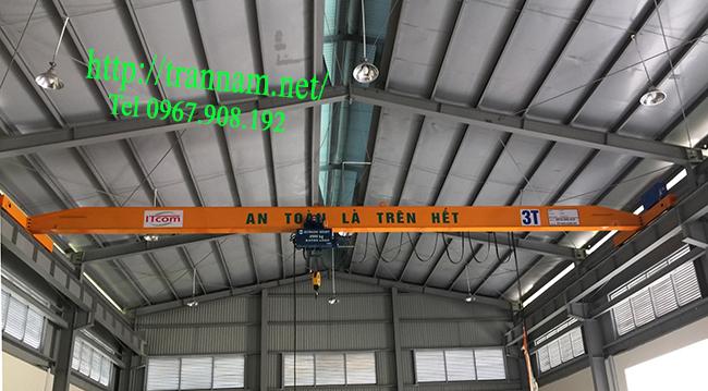 Cầu trục 3 tấn tại Hà Nội