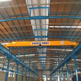 Cầu trục đơn 3 tấn – tại Xuân Mai, Hà Nội
