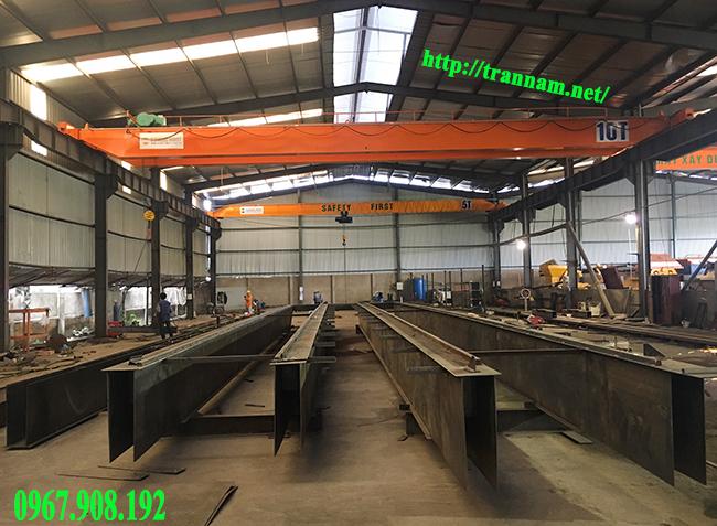 Nhà xưởng sản xuất cầu trục