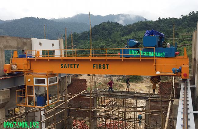Chế tạo cầu trục tại Nghệ An