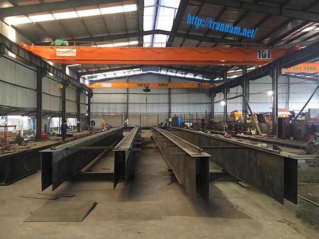 Nhà máy chế tạo cầu trục