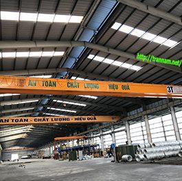 Cầu trục dầm đôi 3 tấn tại Phố Nối A – Hưng Yên