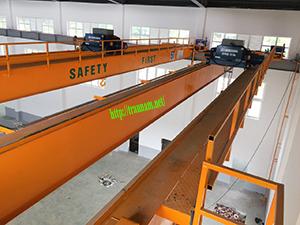 Cầu trục dầm đôi 5 tấn tại Hưng Yên