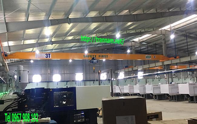 Lắp đặt cầu trục 3 tấn chất lượng tại Nga Sơn Thanh Hóa