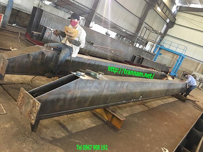 Chế tạo cầu trục đôi trong nhà xưởng