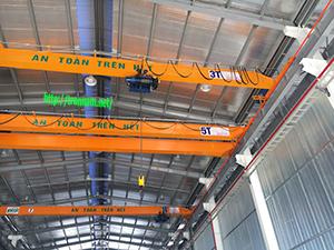 Cầu trục 2 tấn, 3 tấn, 5 tấn, 10 tấn tại Vĩnh Phúc