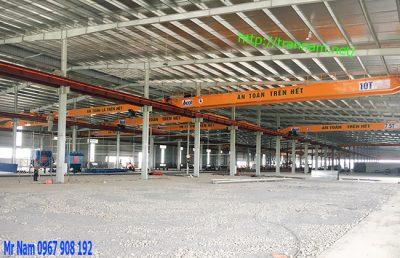 Lắp đặt cầu trục chất lượng tại Thái Nguyên