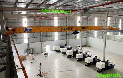 Lắp đặt cầu trục 3 tấn tại Quế Võ - Bắc Ninh