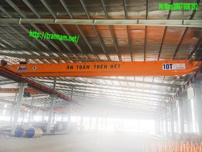Chế tạo cầu trục 10 tấn tại Vĩnh Phúc
