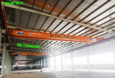 Lắp đặt cầu trục 10 tấn tại Vĩnh Phúc