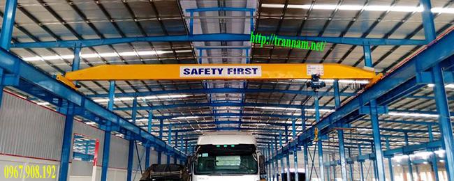 Lắp cầu trục 5 tấn tại Hà Nội