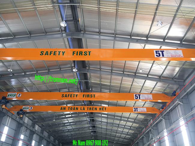 Sử dụng cầu trục an toàn