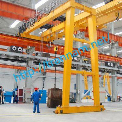 Bán cổng trục dầm đôi 5 tấn