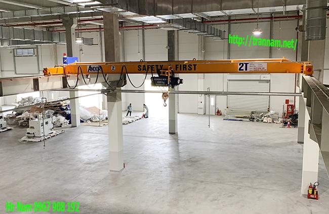 Cung cấp cầu trục 2 tấn tại Hưng Yên