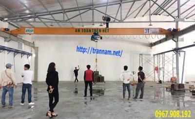 Chế tạo cầu trục 3 tấn tại Hà Nam