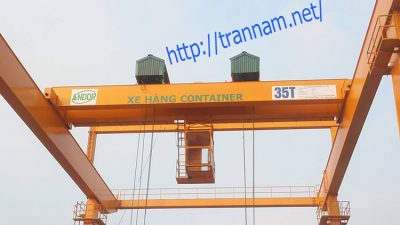Cổng trục container 35 tấn