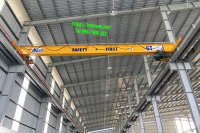 Cầu trục 5 tấn lắp tại Bắc Ninh