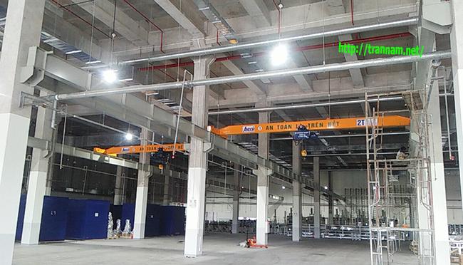 Cầu trục dầm đơn 2 tấn tại Hưng Yên