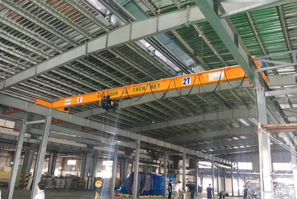 Chế tạo cầu trục 2 tấn tại Hải Phòng