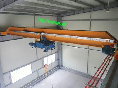 Chế tạo cầu trục 3 tấn tại Thái Nguyên