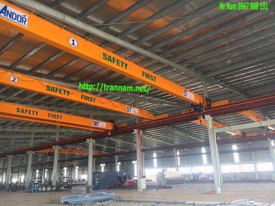 Chế tạo cầu trục chất lượng tại Điện Biên