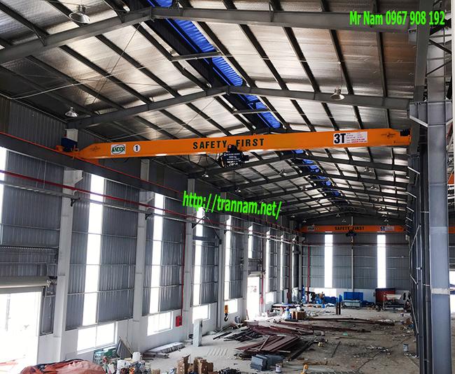 Lắp cầu trục 3 tấn tại Phú Thọ