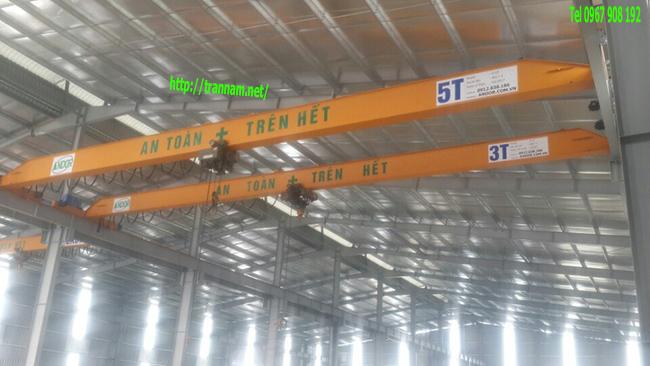 Cung cấp cầu trục dầm đơn tại Bắc Ninh