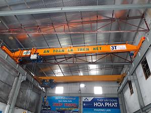 Cầu trục dầm đơn 3 tấn- tại Bắc Ninh