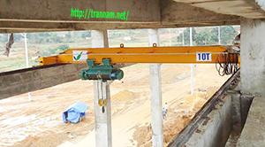 Cung cấp cầu trục 10 tấn dầm đơn