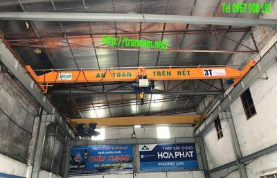 Lắp cầu trục 3 tấn tại Bắc Ninh