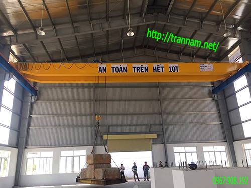Kiểm định cầu trục 10 tấn x 15m