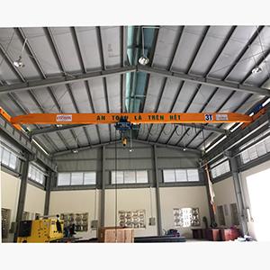 Cung cấp cầu trục 3 tấn dầm đơn