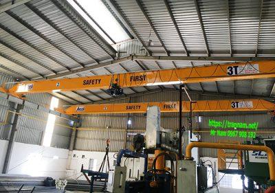 Cầu trục dầm đơn 3 tấn- tại Hưng Yên