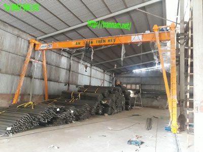 Lắp đặt cổng trục 5 tấn tại miền Bắc